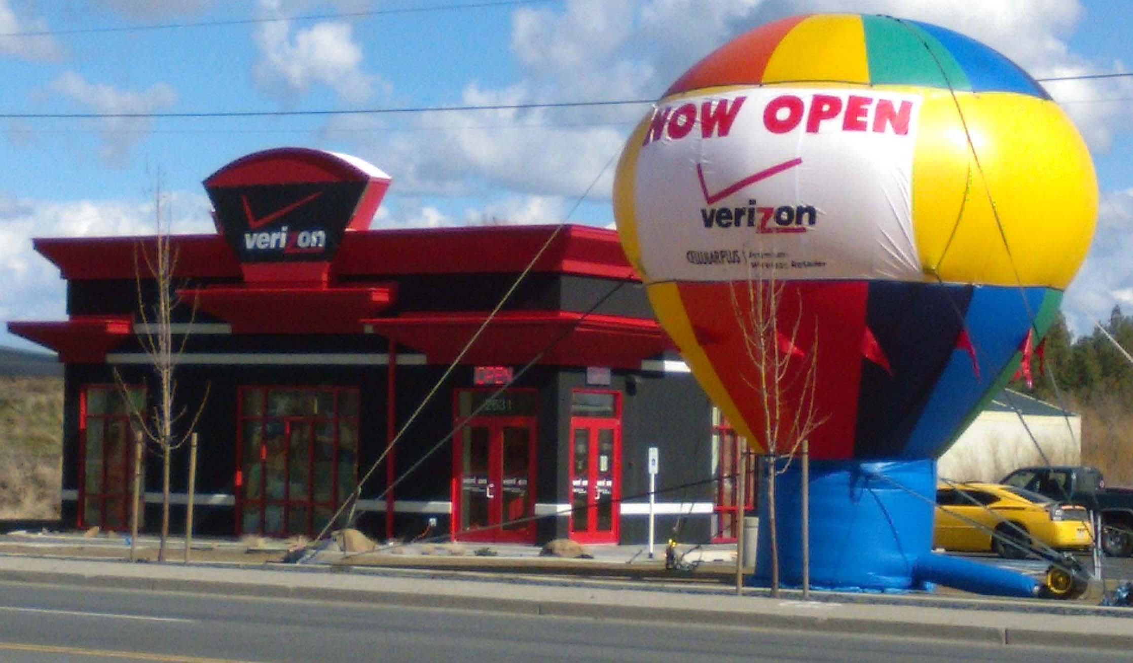 Grand Opening Balloons Balloon Advertising Roof Top